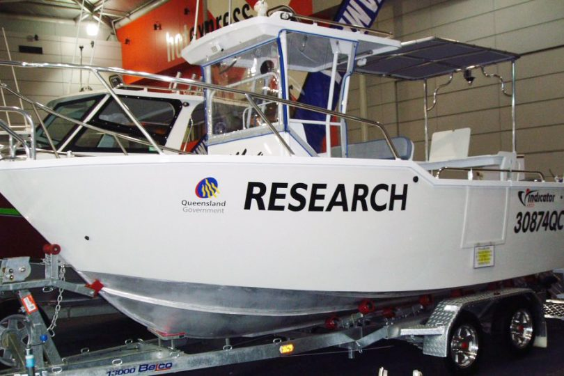 Research Boat Cairns