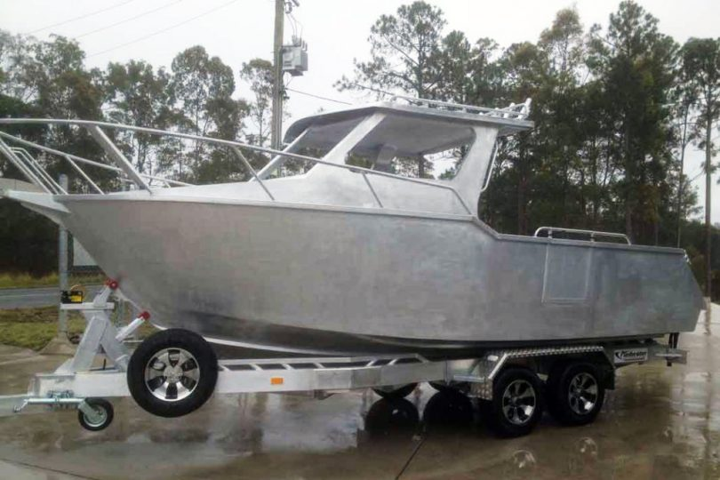 Raw Plate Alloy Boats & Trailers for Sale
