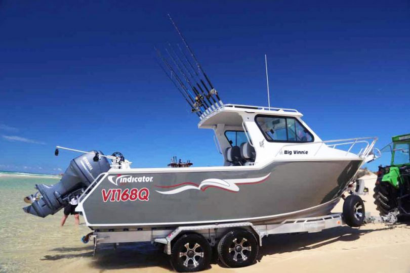 Large Boat Towing Vehicle - Ram Truck