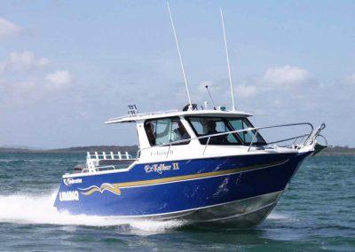 7.20-m Vindicator Quality Aluminium Half Cabin Boat, 300hp Yamaha Four Stroke Engine