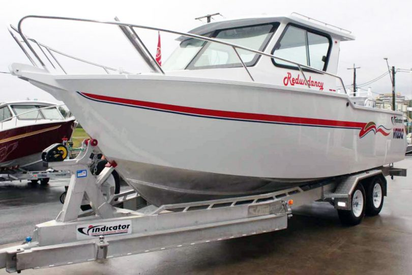 Plate Alloy Boat Package
