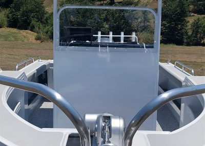 Anchor-Winch & Chain Locker front of Centre Console