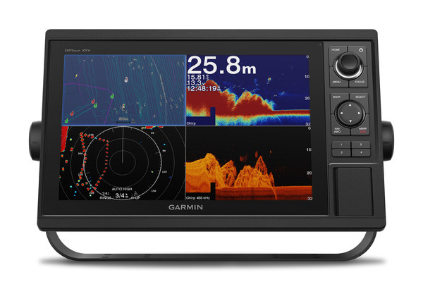 """Garmin 1222XSV 12"""" Screen with Control knobs"""