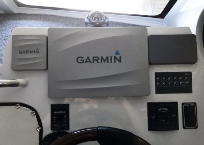 Garmin Electronics recessed into Vindicator dash