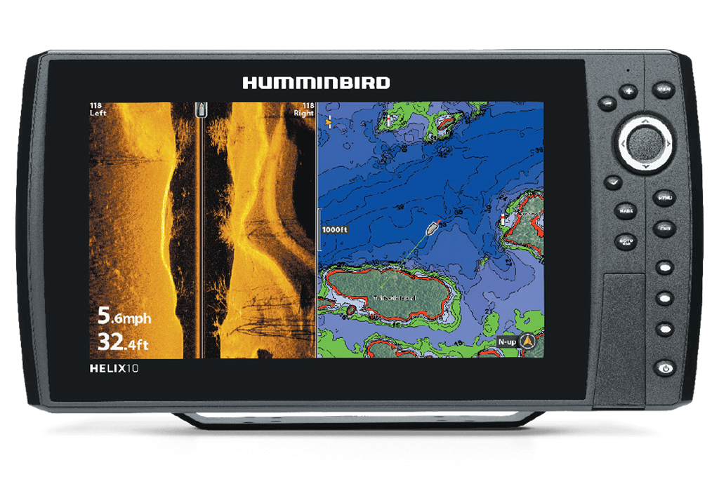 "Helix 10 Chirp Mega SI GPS G2 - 10"" Screen"