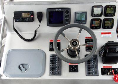 Radio,Electronics, Binnacle Control box & Glove Box for JCU