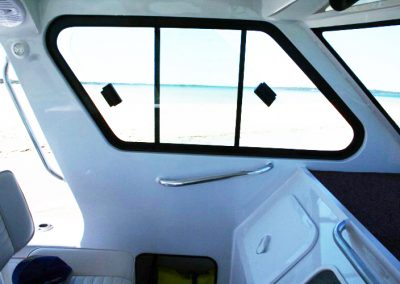 Sliding Glass Boat Windows