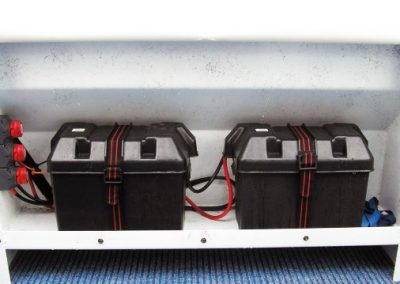 Dual Batteries with Three Row Isolator Switch