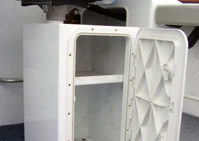 Taackle storage in Boats