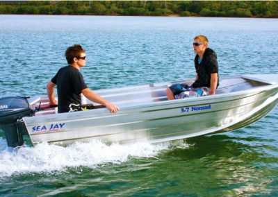 Sea Jay 3.70m Nomad Low Sided Boat great for creeks & bays
